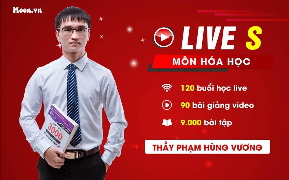 Live S - Luyện thi THPT QG 2021 Hóa học