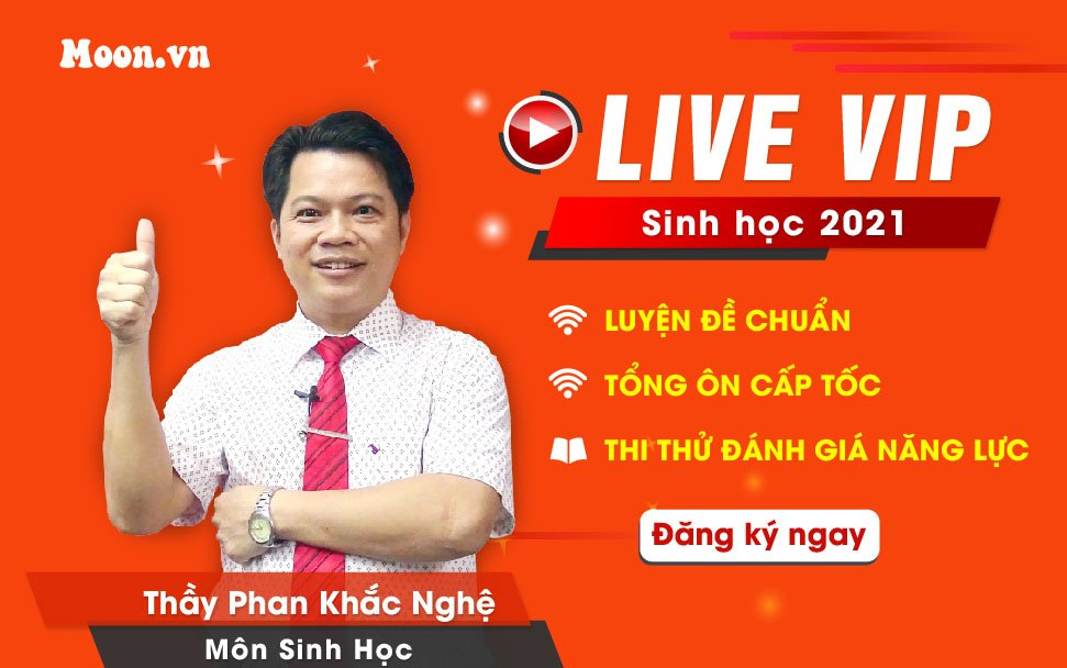 Live VIP Sinh học 2021